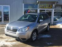 Climb inside the 2015 Subaru Forester! This vehicle is