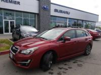 Options:  2015 Subaru Impreza 2.0I Sport Limited 4D