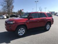 Barcelona Red Metallic 2015 Toyota 4Runner SR5 Premium