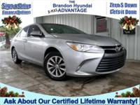 CERTIFIED LOW MILE CAMRY! LIFETIME WARRANTY/ COMES