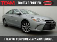*Carfax One Owner* Toyota Certified 2015 Camry XLE in