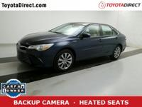 2015 Toyota Camry Hybrid XLE TOYOTA CERTIFIED! CARFAX
