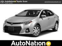 This 2015 Toyota Corolla LE is offered to you for sale