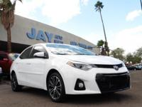 Options:  2015 Toyota Corolla S. 4Dr Sdn Cvt S Plus