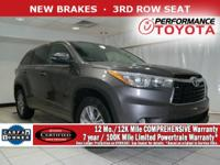 TOYOTA CERTIFIED! CARFAX VERIFIED 1 OWNER! *DESIRABLE