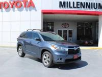 This 2015 Toyota Highlander AWD 4dr V6 Limited is