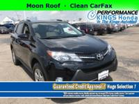 Features: Moon Roof, * CARFAX 1-OWNER *, Clean CarFax,