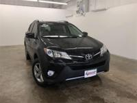 Black 2015 Toyota RAV4 XLE FWD 6-Speed Automatic 2.5L
