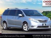 Clean CARFAX. 2015 Toyota Sienna LE 7 PassengerWise