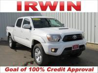TOYOTA CERTIFIED! 4WD! ONE OWNER! ACCIDENT FREE VEHICLE