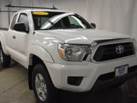 Check out this gently-used 2015 Toyota Tacoma we