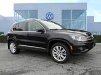 VW FACTORY CERTIFIED 2015 Volkswagen Tiguan SE 4Motion