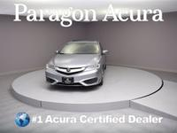 Certified. 2016 Acura ILX 2.4L CARFAX One-Owner. Priced