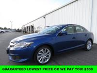 Catalina Blue Pearl 2016 Acura ILX 2.4L FWD 8-Speed