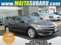 CARFAX One-Owner. Clean CARFAX. Charcoal 2016 Acura ILX