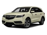 New Arrival! CarFax 1-Owner, This 2016 Acura Mdx 3.5L