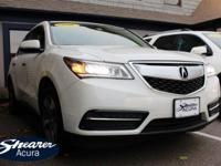Introducing the 2016 Acura MDX! Assembled with the most