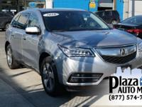 Just Reduced! Certified. 2016 Acura MDX 3.5L Graphite