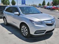 CARFAX One-Owner. Clean CARFAX. 2016 Acura MDX 3.5L
