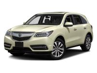Check out this gently-used 2016 Acura MDX we recently