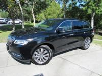 This 2016 Acura MDX 4dr SH-AWD 4dr with Tech/AcuraWatch