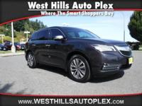 MDX SH-AWD 4D SUV W/TECH  Options:  2-Stage