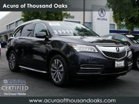 Options:  2016 Acura Mdx W/Tech|Gray/|V6 3.5L