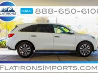 Flatirons Imports is offering this 2016 Acura MDX 3.5L,