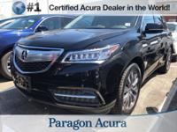 Short Hills, NJ Trade-In! Certified. 2016 Acura MDX