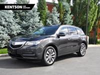 2016 Acura MDX TECHNOLOGY PACKAGE V6 AWD, Gray w/ Black