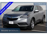 2016 Acura MDX 3.5L Lunar Silver Metallic New Price!