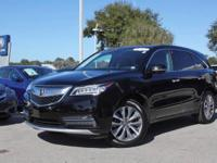 2016 Acura MDX w/Tech, Certified Pre-Owned Vehicle,