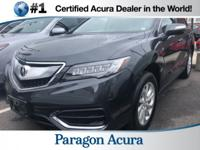 Certified. 2016 Acura RDX CARFAX One-Owner. Priced