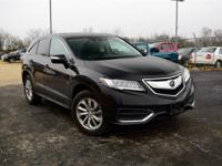 Black 2016 Acura RDX AWD AWD 6-Speed Automatic 3.5L V6