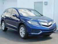 New Price! Clean CARFAX. This 2016 Acura RDX in Blue