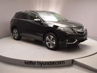 This one owner clean CARFAX 2016 Acura RDX Advance Pkg