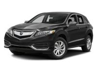 2016 Acura RDX AWD w/Technology Package w/ Acura Watch.