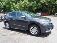 Recent Arrival! 2016 Acura RDX CARFAX One-Owner. Clean