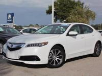 2016 Acura TLX, Certified Pre-Owned, Only 3055 Miles,