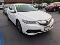 Introducing the 2016 Acura TLX! It offers great fuel