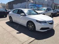 Certified. 2016 Acura TLX 2.4L Bellanova White Pearl