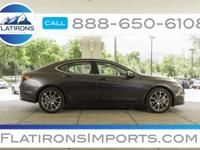Flatirons Imports is offering this 2016 Acura TLX 3.5L