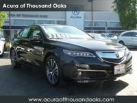 Options:  2016 Acura Tlx V6 Advance|Crystal Black