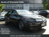 Options:  2016 Acura Tlx V6 Tech|Crystal Black