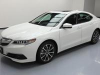 2016 Acura TLX with 3.5L V6 Engine,Leatherette