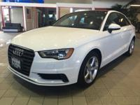 Options:  2016 Audi A3 4Dr Sdn Fwd 1.8T Premium|4