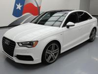 2016 Audi A3 with S Line Package,1.8L Turbocharged I4