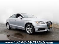 Sleek and stylish, our One Owner 2016 Audi A3 2.0T