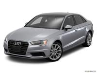 Clean CARFAX. quattro, Leather. 2016 Audi A3 2.0T
