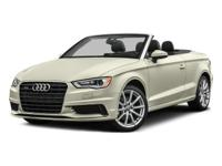 2016 AUDI A3 CABRIOLET 2.0T PREMIUM PLUS WITH ONLY